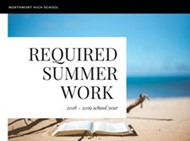 Required Summer Work