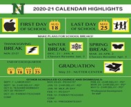 20-21 Abbreviated Calendar graphic