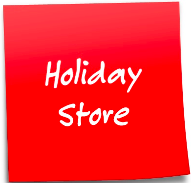 Holiday Store Stickie Note