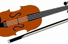 graphic of a violin