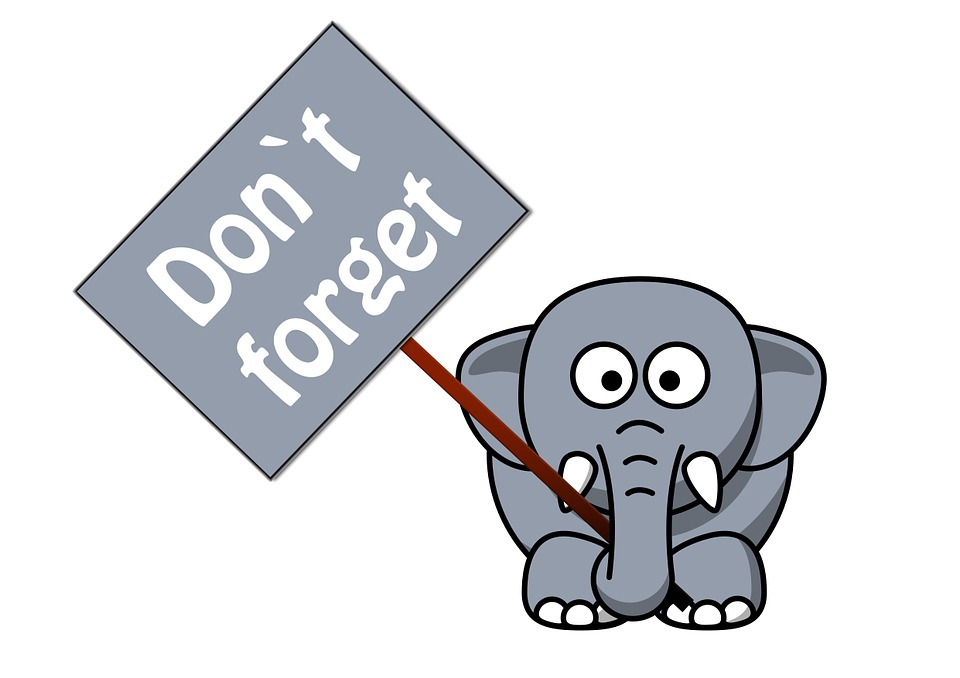 Don't forget elephant